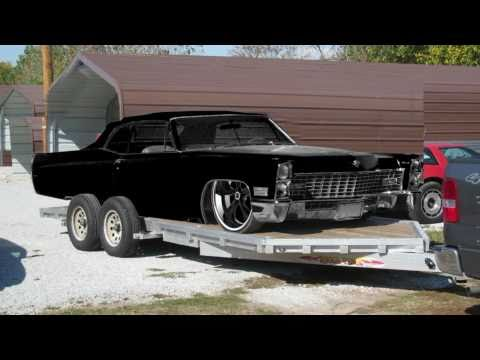 pony 39 s murdered out 1966 cadillac coupe deville doovi. Black Bedroom Furniture Sets. Home Design Ideas