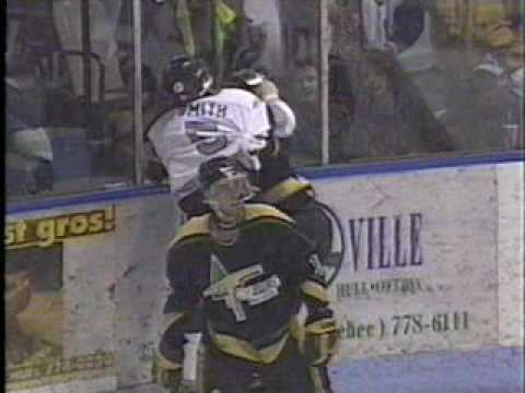 Jean-Luc Grand-Pierre vs Russell Smith LHJMQ 5 04 96