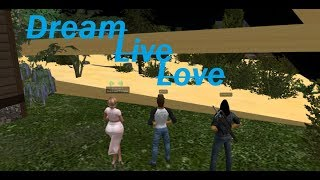 """Second Life: Ted Life """"Dream Live Love"""" (Featuring Derrick NOT A FISH)"""