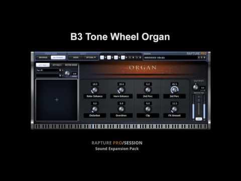 Digital Sound Factory - B3 Tone Wheel Organ