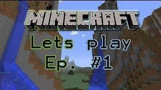 lets play minecraft Thumbnail