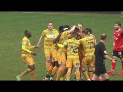 HIGHLIGHTS: MORECAMBE 1-3 YEOVIL TOWN