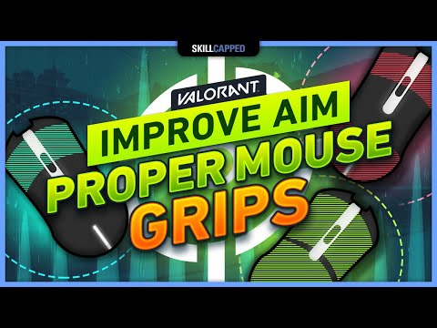 IMPROVE YOUR AIM with YOUR MOUSE GRIP - Valorant Tips, Tricks, & Guides