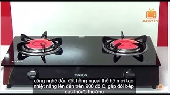 Bếp ga hồng ngoại TAKA TK-HG2, Infrared Burner Gas Stove Cooker