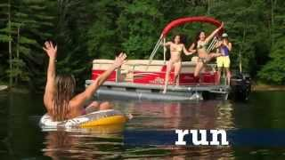2015 Sun Tracker Pontoon Boats - HD Video