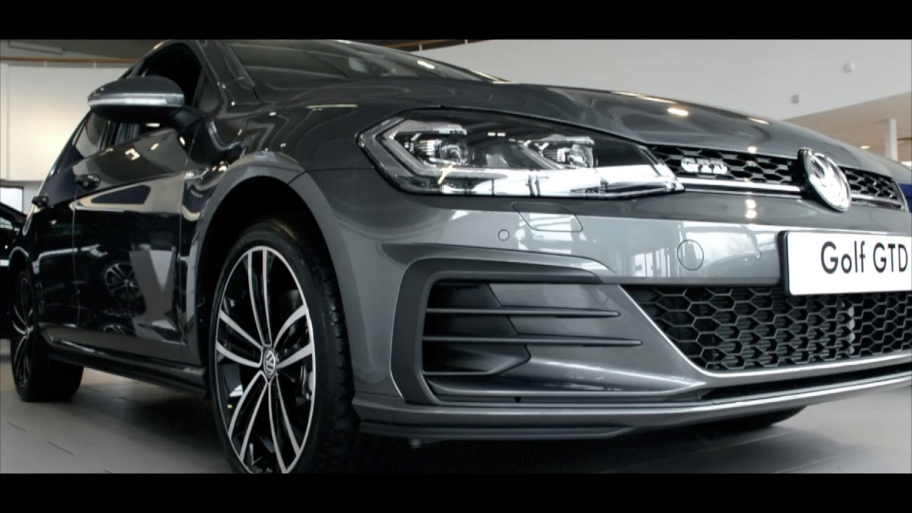 2017 Volkswagen Golf 7 Facelift Vw Golf Gtd Youtube