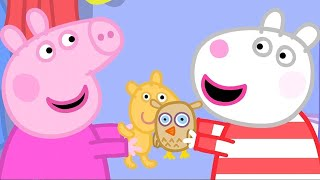 Kids Videos | Peppa Pig's Sleepover | Peppa Pig Official | New Peppa Pig