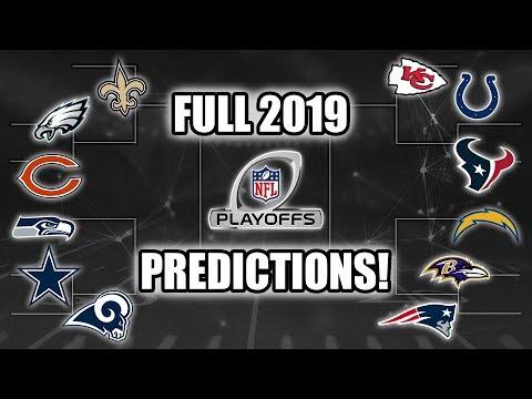 Full 2019 NFL Playoff Predictions! Who Wins SB LIII? (Still Alive Minus Dallas) Mp3