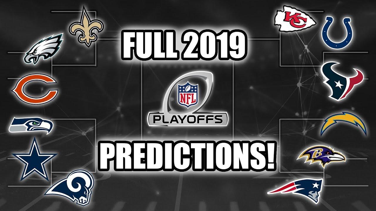 Full 2019 NFL Playoff Predictions! Who Wins SB LIII?  YouTube