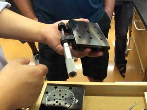 Optics Lab Equipment Tutorial 2/2