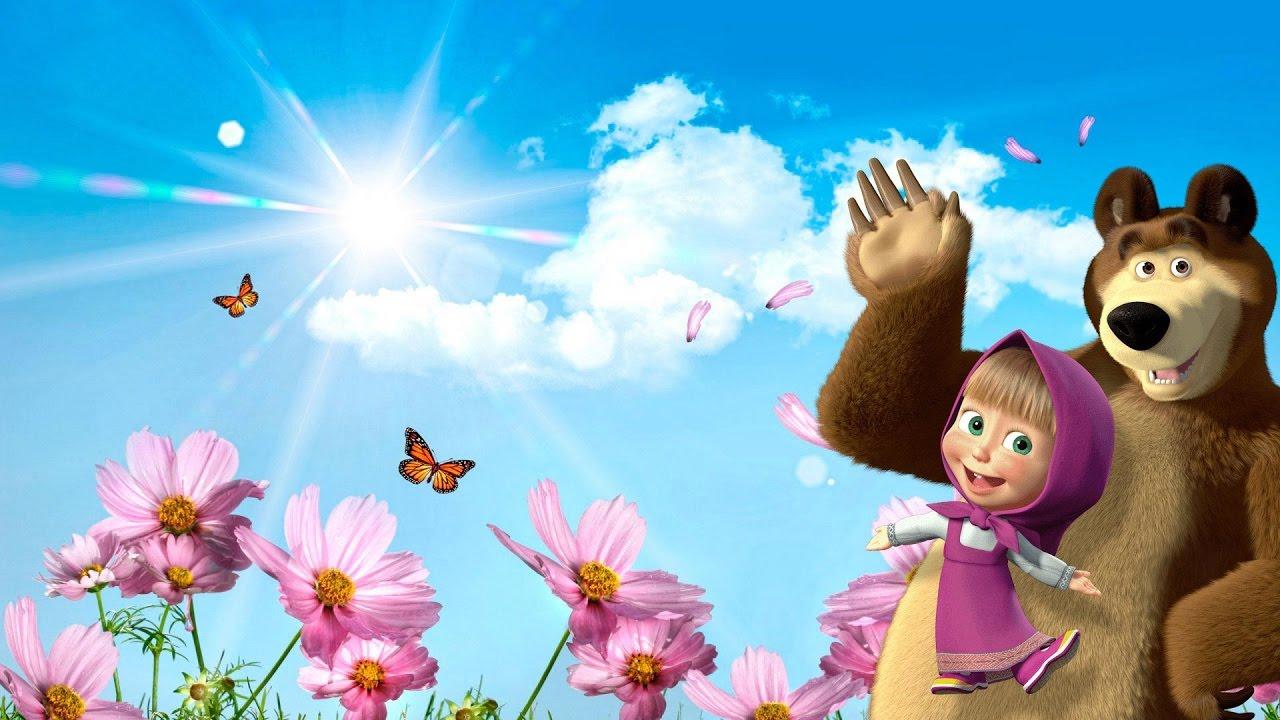 Masha and Bear vs Bee