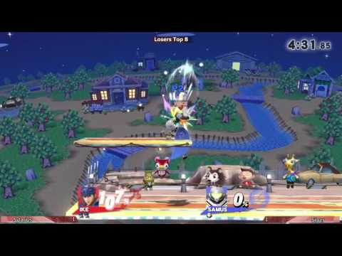 Revival of CAST - Sylarius (Ike) Vs. Silver (Samus) - Losers
