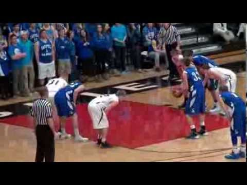 Basketball: Sartell vs Fergus Falls Section 8AAA semifinal (March 1, 2014)