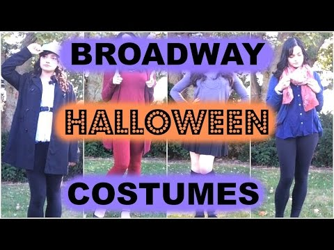 Quick Broadway Halloween Costumes! - Theatre, Glee, & Smash!