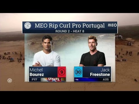 Meo Rip Curl Pro Portugal: Round Two, Heat 8