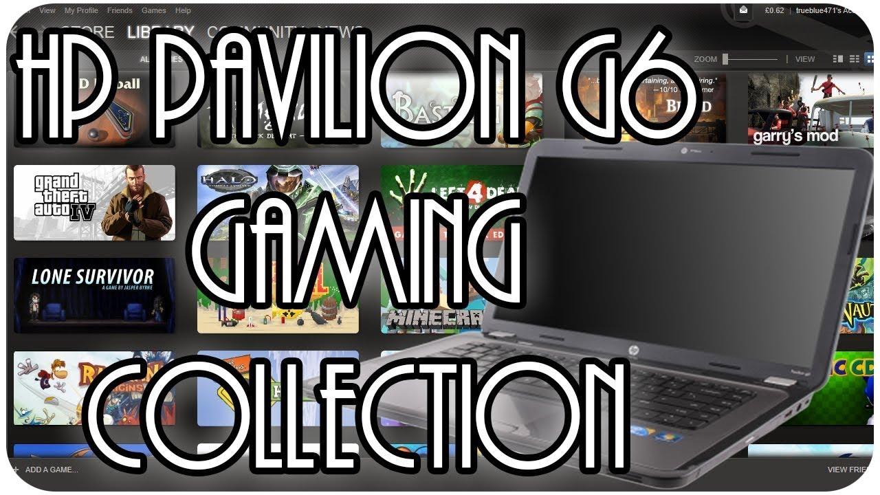 Игры для HP Pavilion G6 скачать
