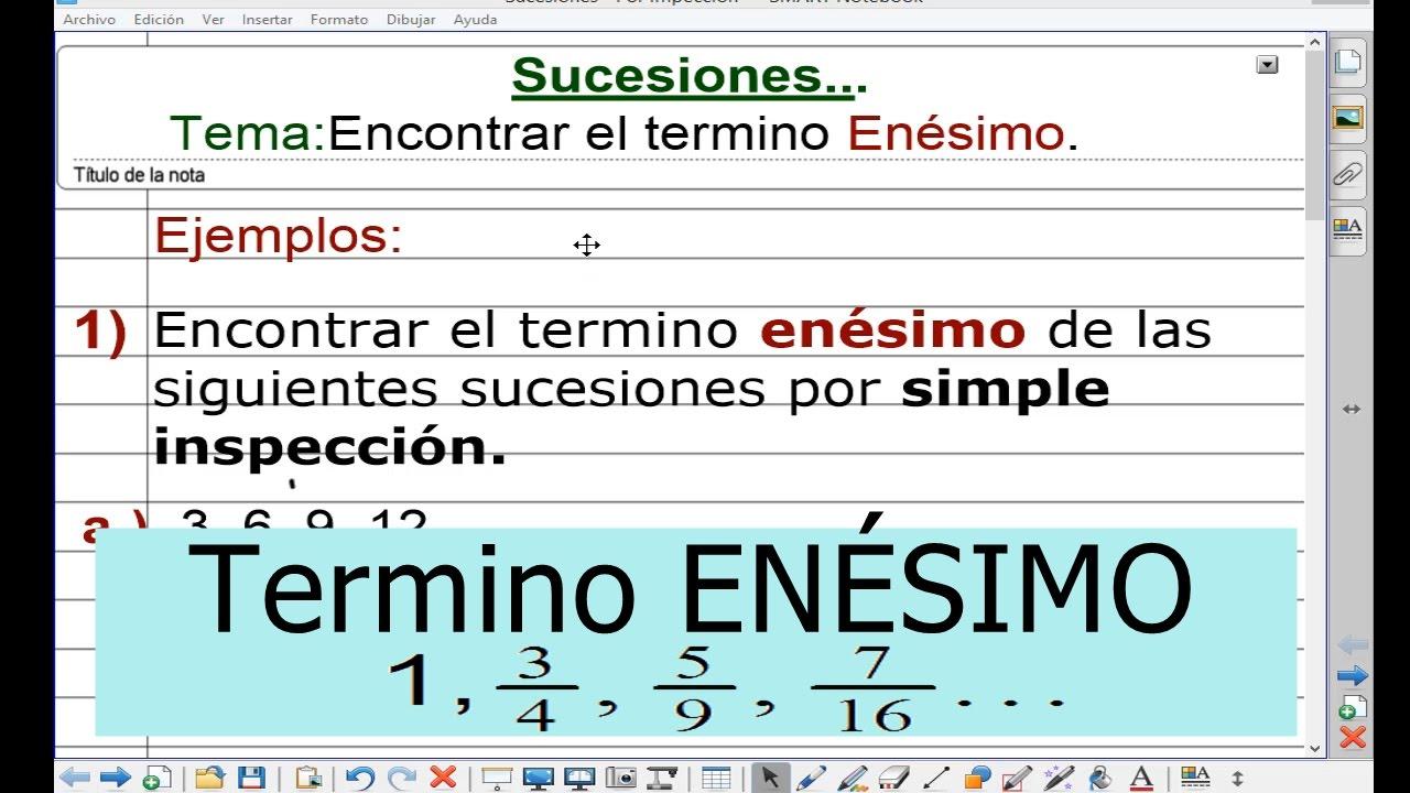 Cómo calcular el enésimo término y la regla de la función ...