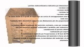 Cassa in legno osb Video