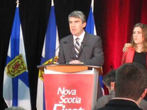 Nova Scotia Liberals celebrate at Bridgetown CC Oct 08  13 022