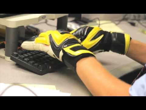 Soccer Goalie Gloves Make Office Life Impossible