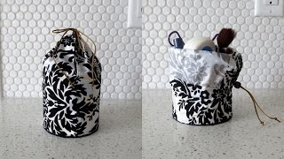 DIY Ready To Travel Makeup Pouch