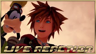 Live Reaction -  Kingdom Hearts III Classic Kingdom Trailer