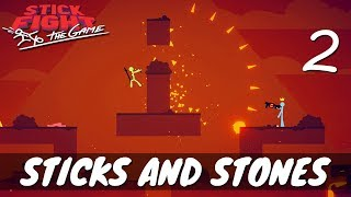 [2] Sticks and Stones (Let's Play Stick Fight: The Game w/ GaLm and friends)
