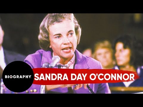 Sandra Day O'Connor - First Woman to Serve on the Supreme Court Mini Bio | Biography