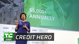 Credit Hero can help fix your score | Startup Battlefield Disrupt NY 2017