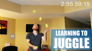 Learn To 4 Ball Juggle In 2 Hours 56 Mins Youtube