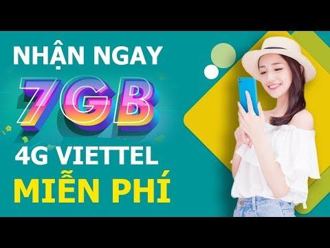 Tết Rồi Nhanh Tay Nhận Ngay Tới 7GB 4G Viettel Giá 0 đồng