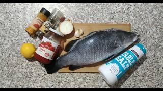 Simple recipe of Cook in the oven barramandi fish. Super delicious