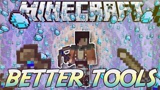 Minecraft ITA - Mod: Armi & Attrezzi LEGGENDARI // Better Tools