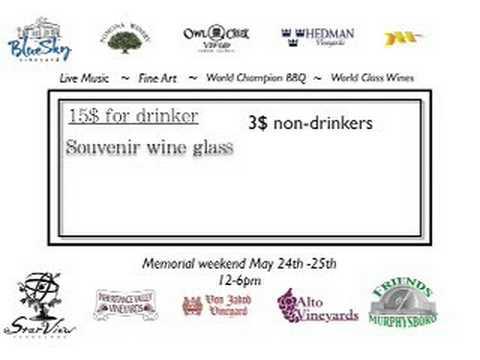 The Shawnee Hills Wine Trail Wine & Arts Festival
