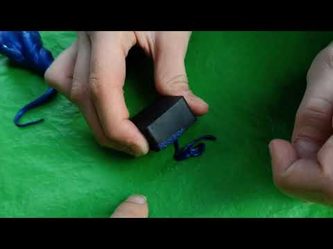 Умный пластилин Thinking Putty Reactive Razz Красно-фиолетовый магнитный (ti16004) (8594164760457)
