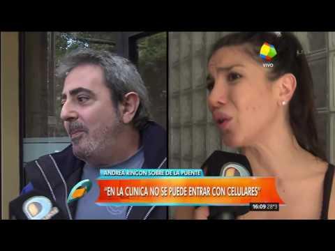 Andrea Rincón en medio del tratamiento: Parezco fuerte y soy muy cobarde
