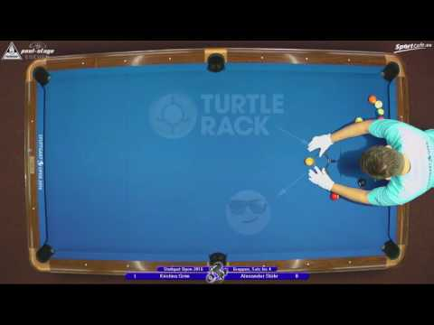 Stuttgart Open 2016, No. 16, Kristina Grim vs. Alexander Stöhr, 10-Ball, Pool-Billard