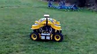 Rc Lawnmower Spider Ild02 G36 Dan Mower Youtube