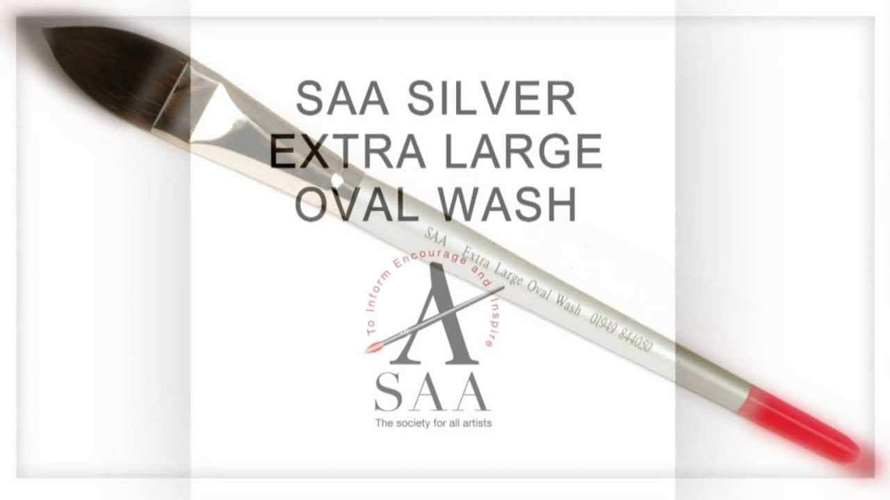 18mm SAA Large Oval Wash Brush