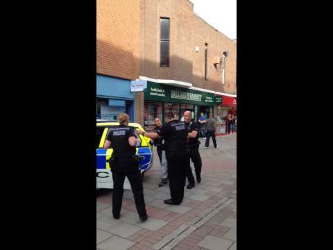 Uk police aressted drunk women shop lifting from sports direct. Sussex police
