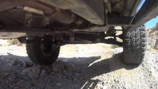 2014 Nissan Frontier Pro-4x (undercarriage camera) Rock Crawling near Apex/Nellis