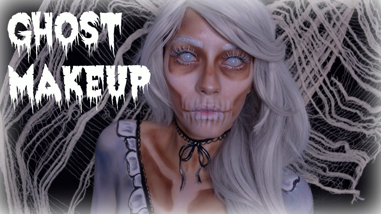 Ghost Lady Makeup | Halloween | Makeup Mars - YouTube