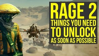 Rage 2 Tips And Tricks - Weapons, Upgrades & More You Want To Get Early (Rage 2 Best Weapons)