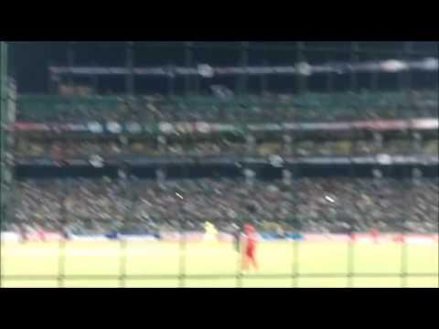 MS Dhoni hitting longest six in IPL(CSK)....