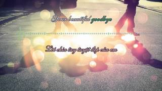 Vietsub + Kara - Beautiful Goodbye - Maroon 5 - HD720p lyrics on the screen