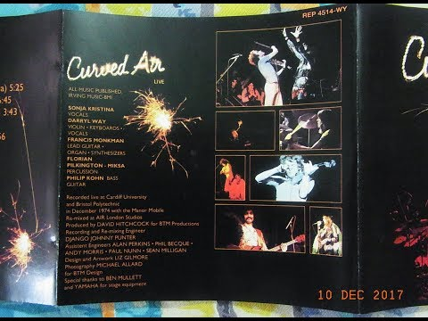 Curved Air Live 1975 - full album.