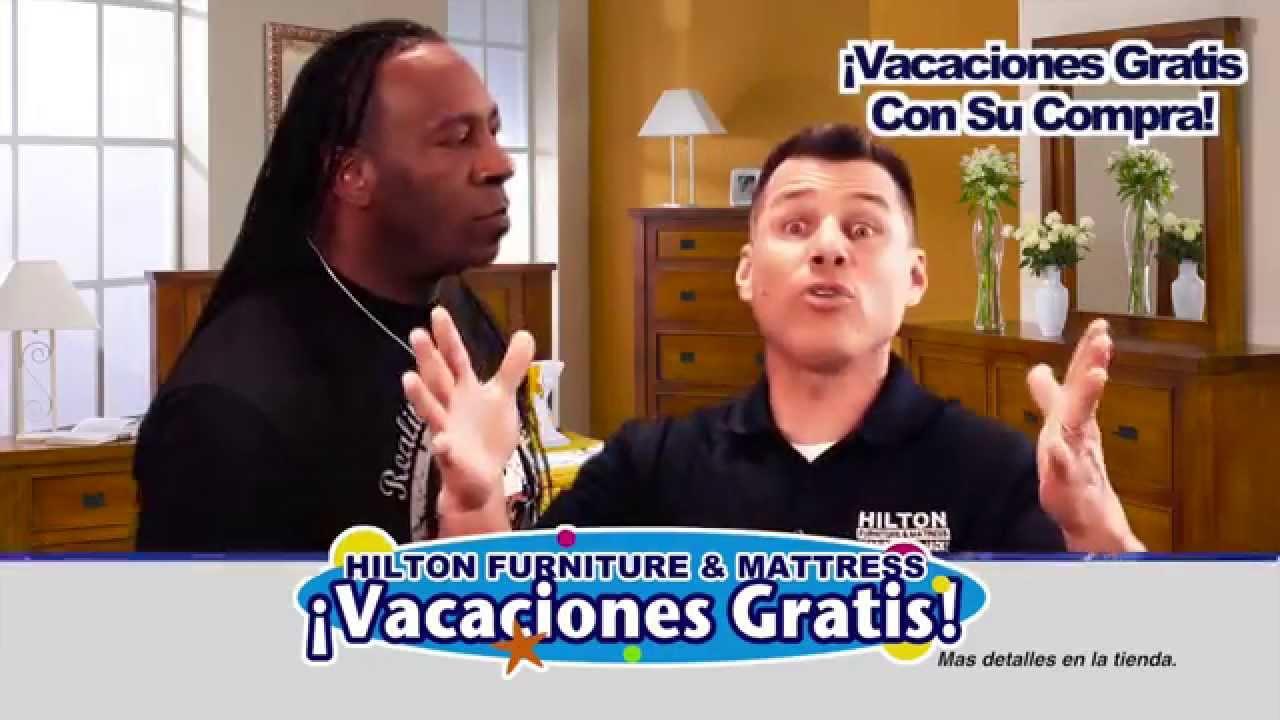 Hilton Furniture Mattress Free Vacation Giveaway Spanish Youtube