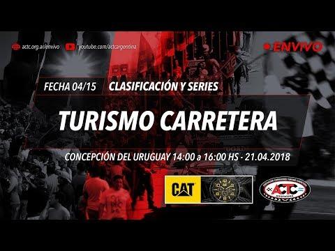 04-2018) C. del Uruguay: Sábado Clasificación TC y series TCP