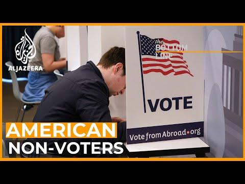 Why do so many Americans not vote?   The Bottom Line