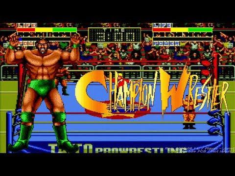Champion Wrestler - Cobra 1CC (Not MAME) / チャンピオンレスラー / 챔피언 레슬러